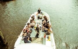 Boot huren Amsterdam. Sloep Amelie Zahra