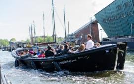 Boot huren Amsterdam. Sloep KIN 40