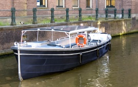 Boot huren Haarlem. Sloep Sloep Smidt