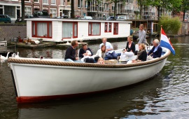 Boot huren Amsterdam. Sloep Willy