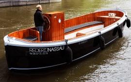 Boot huren Amsterdam. Sloep Nassau