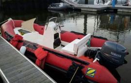 Boot huren Scheveningen. Speedboot RIB VI - 50pk