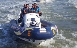 Boot huren Rotterdam. Speedboot RIB01