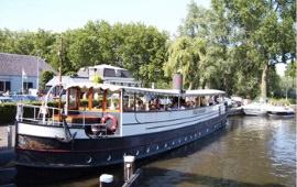 Boot huren Haarlem. Partyboot Stad Dockum