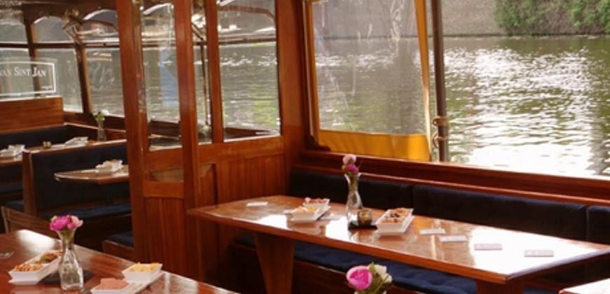 Salonboot huren Amsterdam Proost van Sint Jan