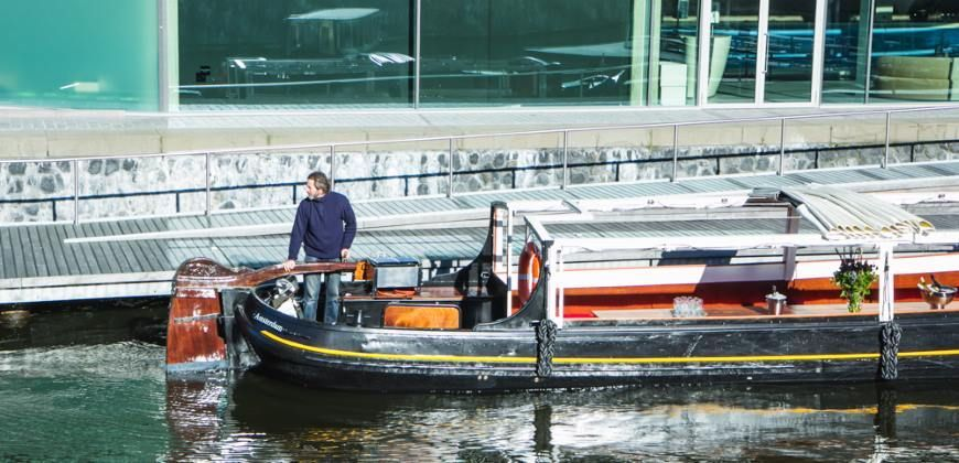 Amsterdam boot huren Theo Kok