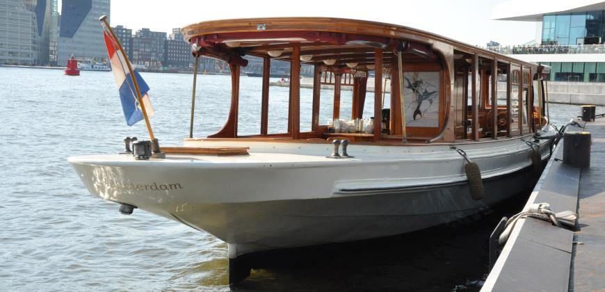 Salonboot huren Amsterdam Jean Schmits