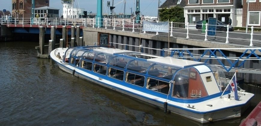 rondvaartboot huren harlingen