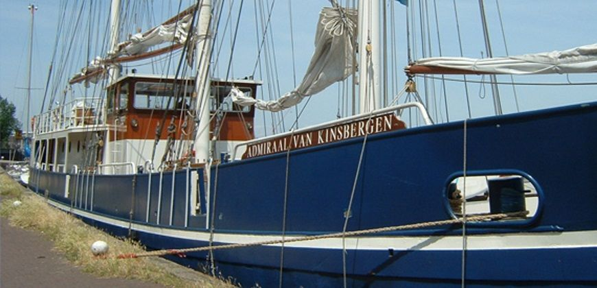 klipper amsterdam admiraal van kinsbergen