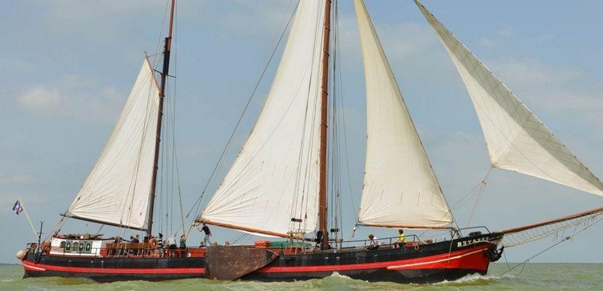 zeilboot lemmer zeester