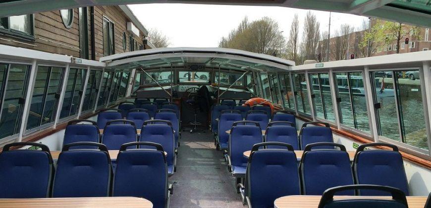 rondvaartboot huren amsterdam jan luiken