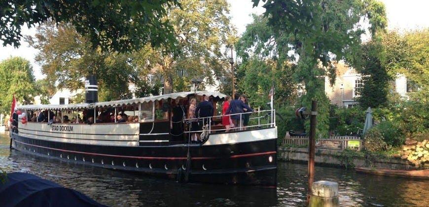 partyboot huren haarlem stad dockum