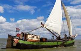 Boot mieten Monnickendam. Tjalk Albatros