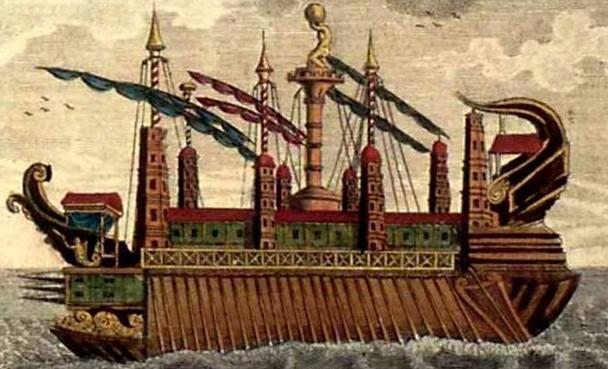 Citaten Uit De Oudheid : De grootste boot ter wereld bootnodig