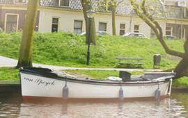 Boot huren Utrecht. Sloep van Speyck