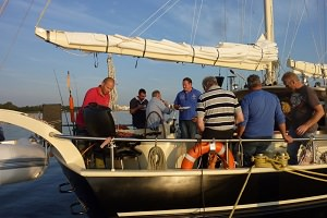 Boot huren Vrijgezellenfeest